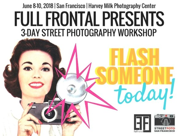 Street Photography Workshop - Full Frontal Flash